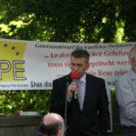 »Bürgerbewegung Pax Europa« wählt René Stadtkewitz zum Vorsitzenden