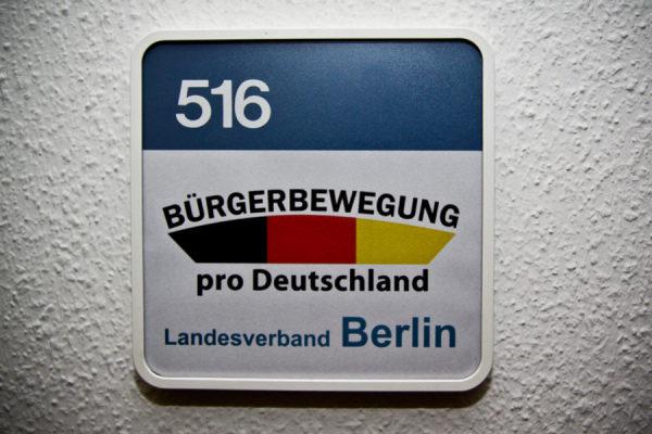 "Hauptstadtbüro ""Pro Deutschland"""