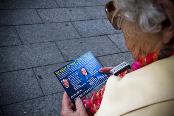 """""""Pro Deutschland"""" Postkarte"""