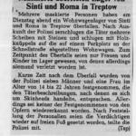 Vor 20 Jahren: Maskierte überfielen Sinti und Roma in Treptow