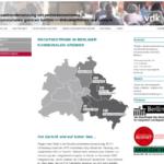 Screenshot: »Auseinandersetzung mit Rechtsextremismus in kommunalen Gremien Berlins«