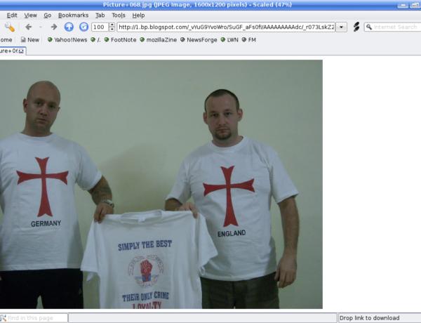 Nick Greger and Paul Ray (2009) Source: Screenshot of http://lionheartuk.blogspot.com