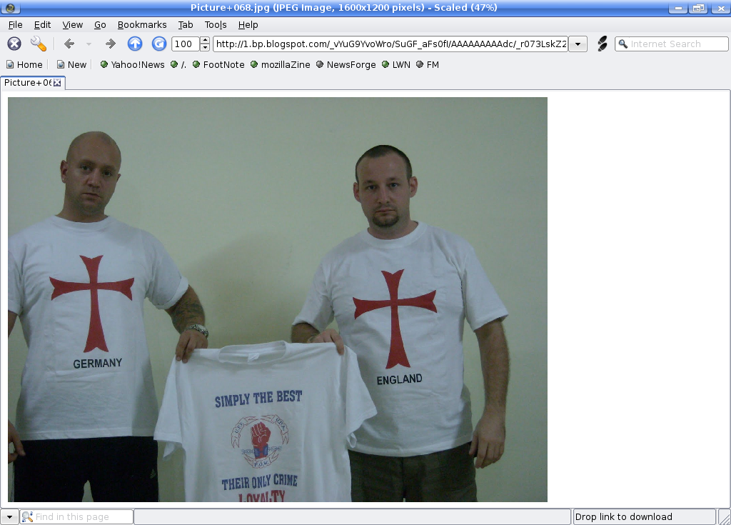 Nick Greger and Paul Ray (2009) Source: Screenshot of http://lionheartuk.blogspot.com