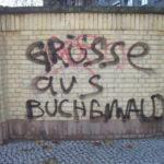 """""""Grüsse aus Buchenwald"""" am ersten November-Wochenende 2010 in Oberschöneweide"""
