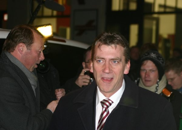 Rene Stadtkewitz am Abend des 11. Januar 2011