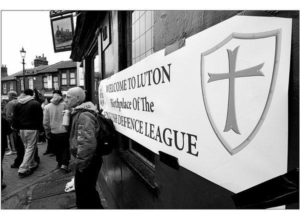 EDL in Luton 2011 © Matthias Berg