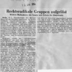 Vor 50 Jahren: Zwei Nazi-Organisationen in Berlin verboten