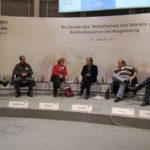 """Mechthild Rawert am 26.01.2011 auf einer Veranstaltung der Friedrich-Ebert-Stiftung mit dem Titel: """"Pro Demokratie, Weltoffenheit und Toleranz - Kontra Rassismus und Ausgrenzung"""""""