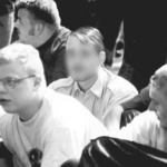 V.l.n.r.: Tino Brandt, André Kapke (hinten), ganz rechts Uwe Mundlos.