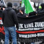 Neonazis auf Umwelt-Demo – Antifaschistische Demonstrierende verhindern deren Teilnahme