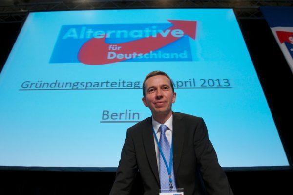 Bernd Lucke, Vorsitzender der AfD (c) Christian Ditsch / www.version-foto.de/