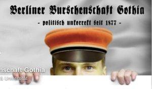 Screenshot Facebook-Seite Burschenschaft Gothia
