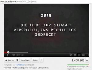 """""""Wahre Werte"""" © Screenshot von YouTube"""