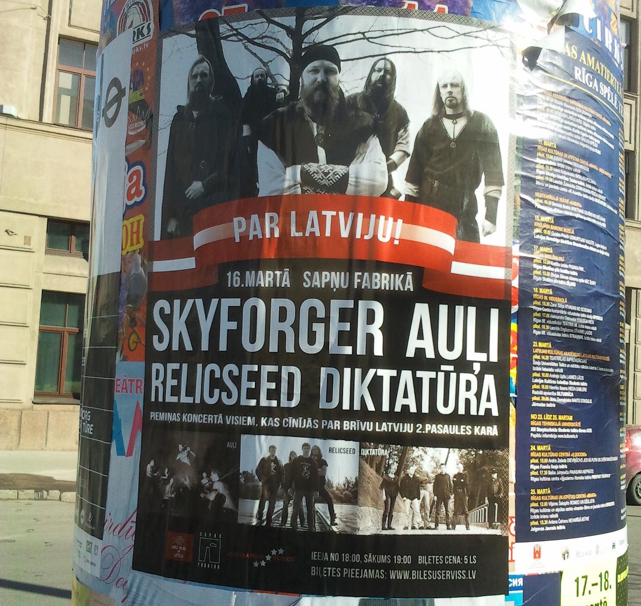 Stahlhelm und Dudelsack - Heidenlärm für die Waffen-SS: Die lettische Metalband Skyforger