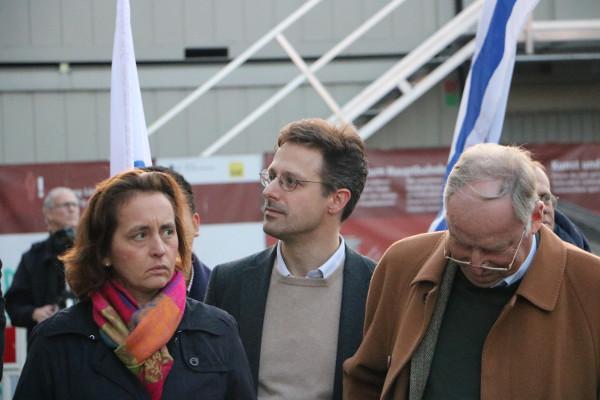"""Die Gesichter der """"Herbstoffensive"""": Beatrix von Storch, Marcus Pretzell und Alexander Gauland (von links nach rechts) (c) apabiz"""