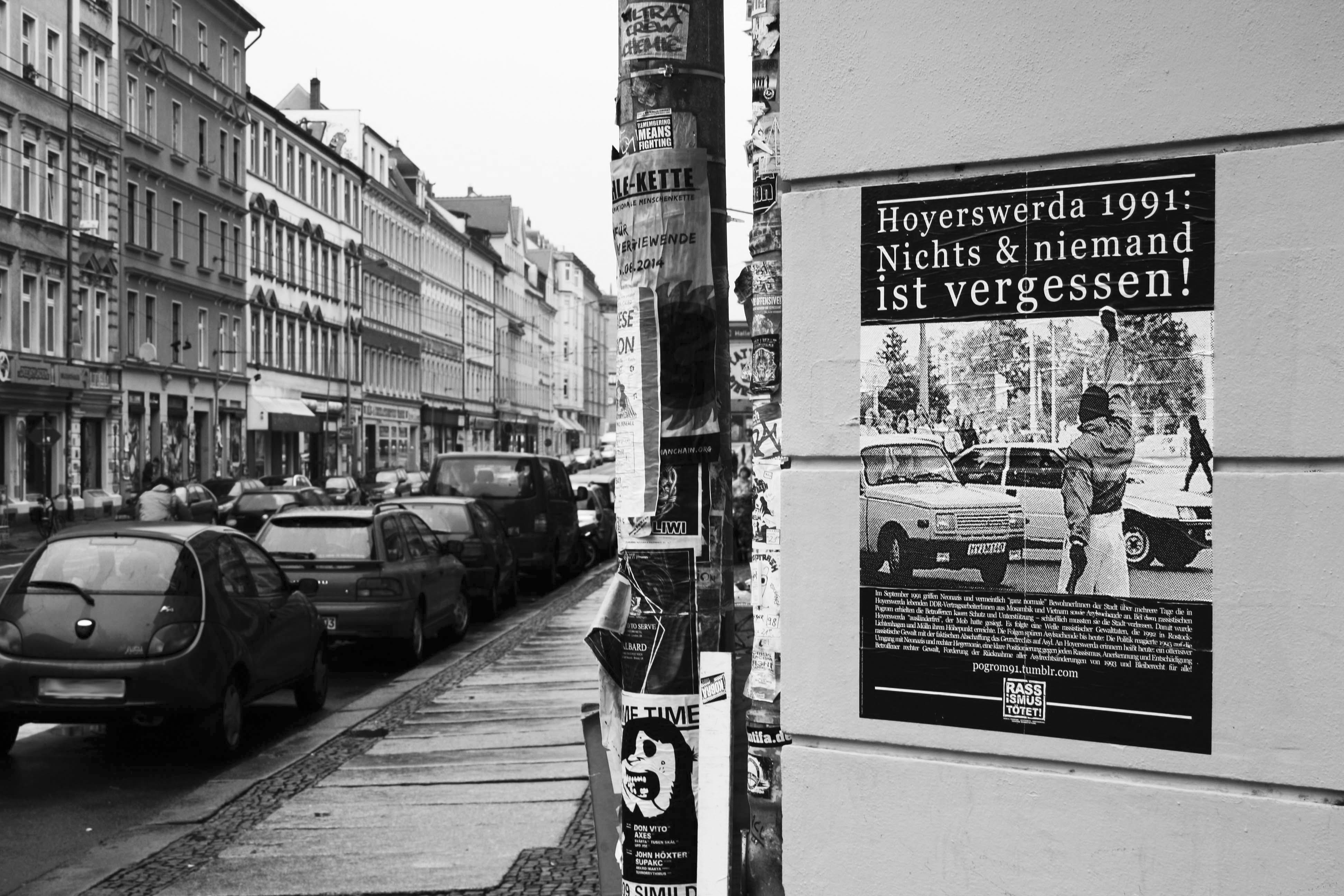 »Hoyerswerda als Vorbild« - Erinnerung an den Brandanschlag von Hünxe im Oktober 1991