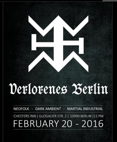 """Ankündigung für die nächste """"Verlorenes Berlin""""-Party im """"Chesters"""" (Screenshot von der Facebook-Seite von """"Verlorenes Berlin)"""