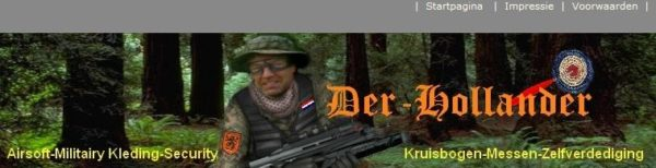 Screenshot Edwin Wagensvelds Webshop
