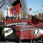 Martialische Selbstinszenierung - Neonazis aus verschiedenen Bundesländern ziehen durch Marzahn-Hellersdorf