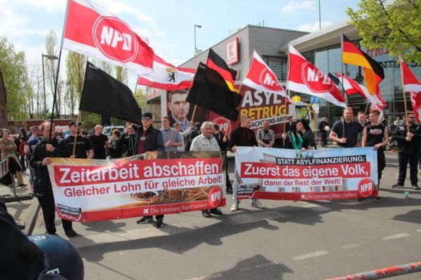 NPD-Kundgebung am 1. Mai in Schöneweide (c) apabiz